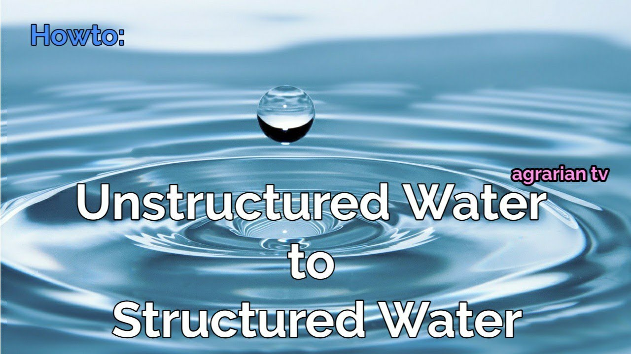 Structured water