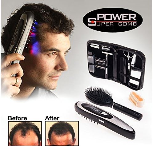 Laser comb for hair growth