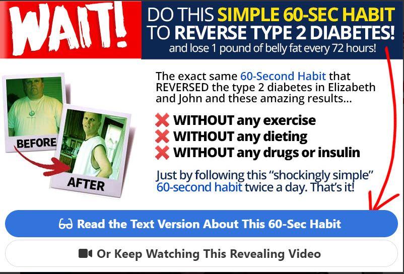 Reverse type 2 diabetes.