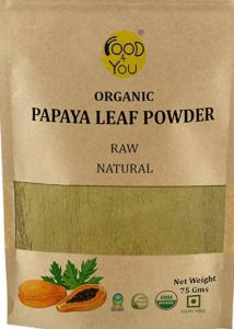 Papaya leaves power